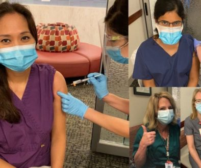 female obgyn doctors dallas tx get covid shots